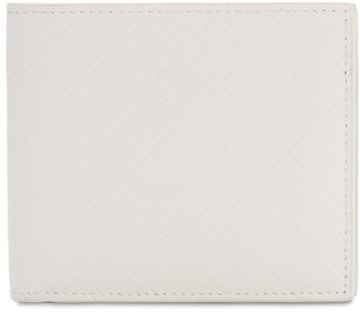 Bottega Veneta Embossed Leather Billfold Wallet