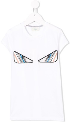 Fendi Monster Eye patch T-shirt