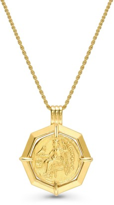Missoma Lucy Williams Gold Octagon Medallion Coin Necklace