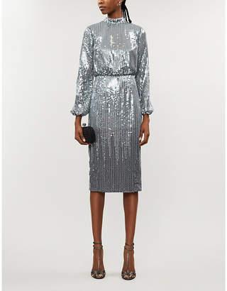 Ted Baker Ophllia sequin-embellishment midi dress