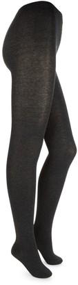 Hue High-Waist Cotton-Blend Sweater Tights