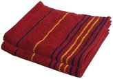 LUSHOMES Lushome 100 % Cotton Stripes Absorbent Hand Towel Set Of 2 - Colour Available