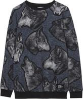 Molo Wolf cotton sweatshirt 4-14 years