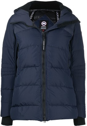 Canada Goose Quilted Hooded Jacket