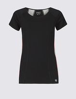 M&S Collection Cotton Rich T-Shirt with Cool ComfortTM Technology
