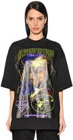 Y/Project Oversized Printed Cotton Jersey T-Shirt