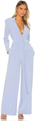 Norma Kamali X REVOLVE Single Breasted Straight Leg Jumpsuit