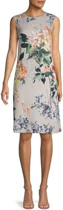 Escada Floral Sleeveless Dress