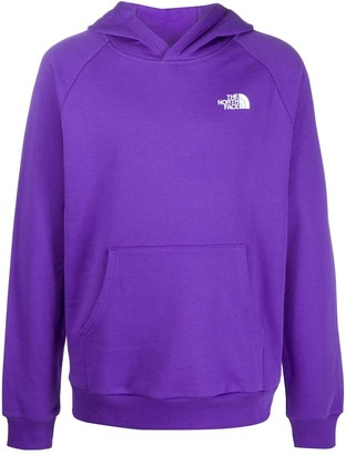 The North Face Redbox logo cotton hoodie