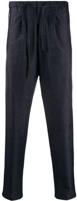 Emporio Armani Tapered-Leg Drawstring Track Pants