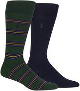 Polo Ralph Lauren Men's 2-Pk. Dress Socks