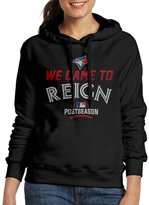 Sarah Women's Toronto Blue Jays 2016 Postseason We Came To Reign Hoodie XL