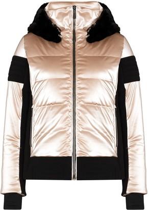 Fusalp Gardena metallic puffer jacket