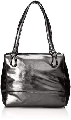Liebeskind Berlin Women's Mesa Metallic Leather Shoulder Bag Satchel Bag