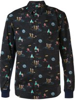 Undercover printed shirt - men - Cotton - 2