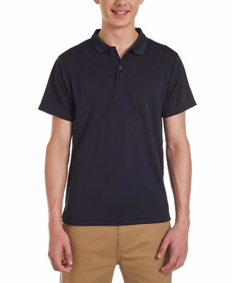 Izod Uniform Young Men's Short Sleeve Performance Polo