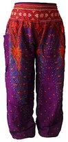 ASVP Shop Harem Hippie Baggy Pants Trousers, Yoga, Dance, Festival, Indian Thai Fisherman Pants