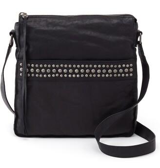 Hobo Mystic Studded Leather Crossbody Bag