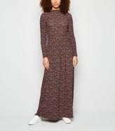 New Look JDY Floral Long Sleeve Maxi Dress