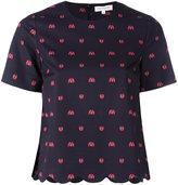 Chinti and Parker Ladybird T-shirt - women - Cotton/Spandex/Elastane - 6