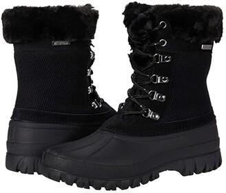 Skechers Windom - Quilted (Black/Black) Women's Boots