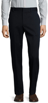 Gucci Solid Flat Front Trousers