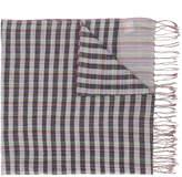Paul Smith check striped scarf
