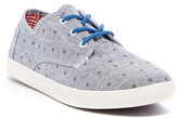 Toms Paseo Chambray Flower Sneaker