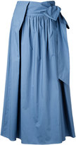 H Beauty&Youth drawstring flared pants - women - Cotton - S