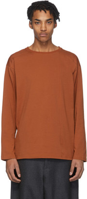 House of the Very Islands Brown Off -Shore Long Sleeve T-Shirt