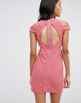 Glamorous Glamourous Pencil Dress With Cut Out Sides