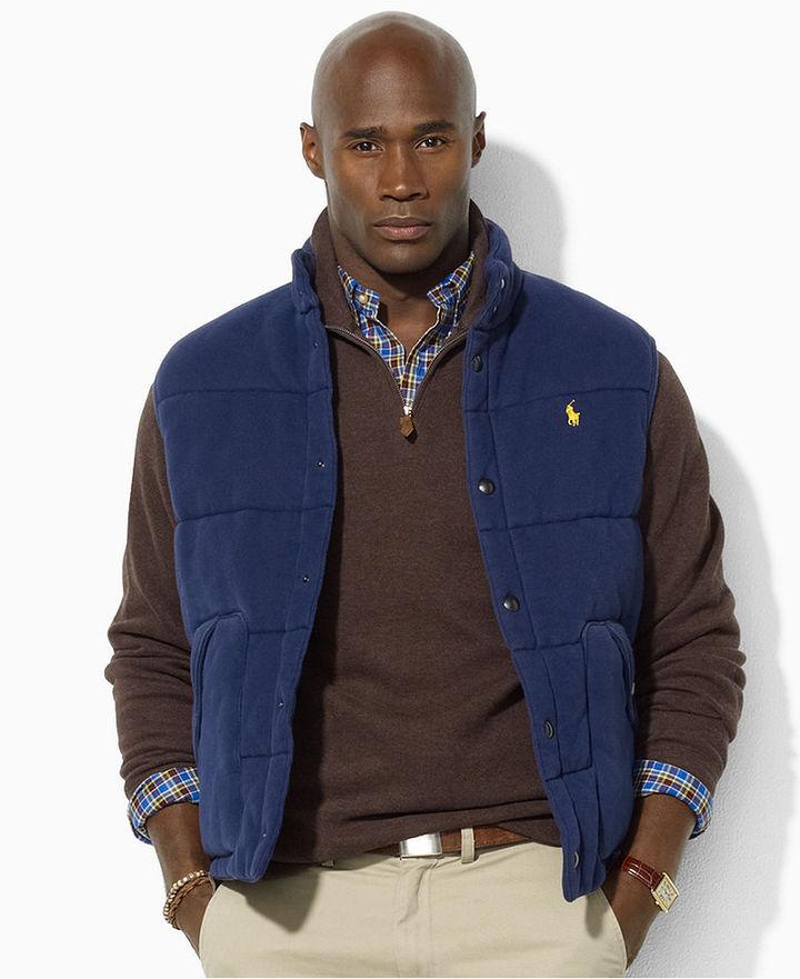 Polo Ralph Lauren Big and Tall Vest, Fleece Vest