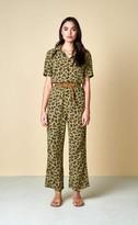 Bellerose Pumpy Overall In Leopard Print - 2/S