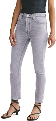 AGOLDE Nico High Waist Ankle Slim Fit Jeans
