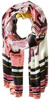 Ted Baker Dion Zebra Tribal Long Scarf