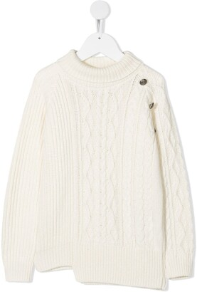 Dondup Kids Cable Knit Jumper