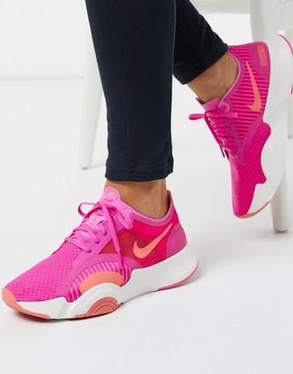 Nike Training SuperRep Go sneakers in pink