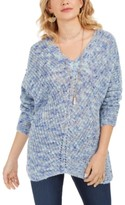 Style&Co. Style & Co V-Neck Dolman-Sleeve Sweater, Created For Macy's