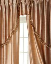 """Sweet Dreams Two 52""""W x 108""""L Josephine Curtains with Tassel Fringe at Bottom"""