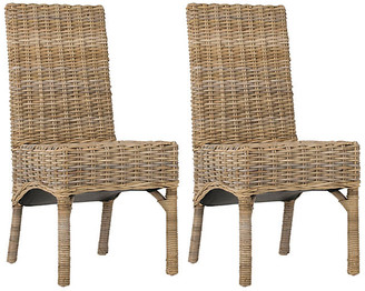 One Kings Lane Murphy Side Chairs - Taupe