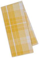 DESIGN IMPORTS Design Imports Daffodil Plaid Set of 4 Kitchen Towels