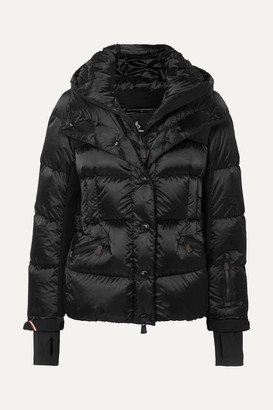 MONCLER GRENOBLE Antabia Quilted Down Shell Jacket - Black