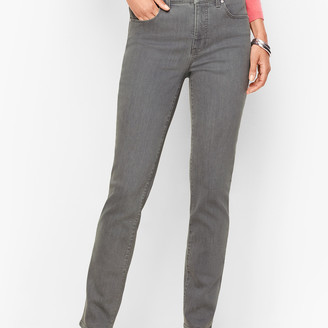Talbots Straight Leg Jeans - Deep Grey