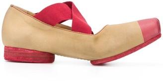 UMA WANG Colour-Block Ballerina Shoes
