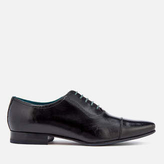Ted Baker Men's Karney Leather Toe-Cap Oxford Shoes - Black