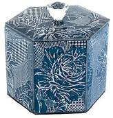 Mackenzie Childs MacKenzie-Childs Royal Rose Lidded Cotton Box