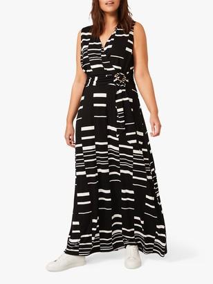 Studio 8 Willow Maxi Dress, Black/White