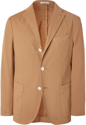Boglioli Slim-Fit Unstructured Cotton-Blend Drill Suit Jacket