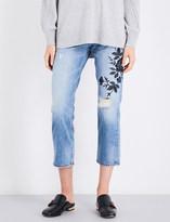 Rag & Bone Marilyn boyfriend-fit straight high-rise jeans