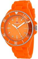 Seapro SP7415 Women's Sea Bubble Orange Silicone Watch with Crystal Accents